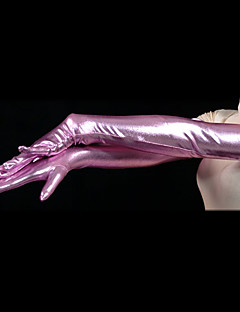 Purple Shiny Metallic Gloves(2 Pieces)
