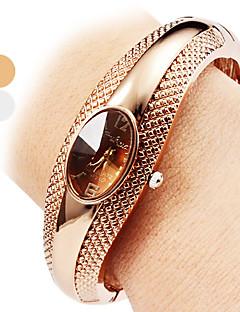 Dámské Módní hodinky Náramkové hodinky Hodinky na běžné nošení Křemenný Slitina Kapela Náramek Elegantní Stříbro Brązowy