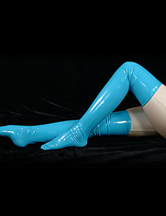 Azure PVC Long Stockings(2 Pieces)