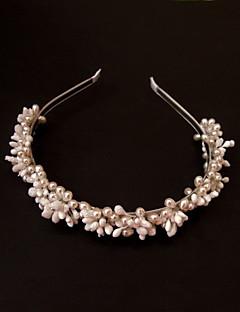 Women's Satin Alloy Headpiece-Wedding Special Occasion Casual Headbands