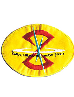 cosplay emblem inspirerad av Gundam KÄRNAR ZAFT armé emblem