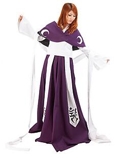 Inspirerad av Tsubasa Princess Tomoyo Animé Cosplay Kostymer/Dräkter cosplay Suits / Kimono Lappverk Lila Lång ärmKappa / Kimono Kappa /