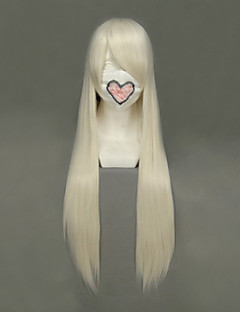 Cosplay Wigs Chobits Chii Golden Long Anime Cosplay Wigs 80 CM Heat Resistant Fiber Female