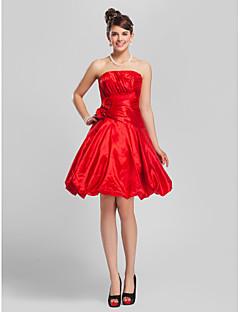 INNES - kjole til brudepige i taft