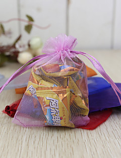 24 Stück / Set Geschenke Halter-Kreativ Organza Geschenktaschen Nicht personalisiert