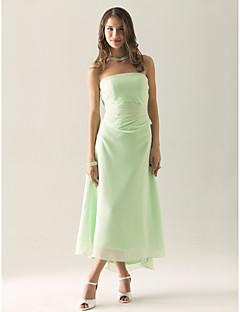IFFI - Kleid für Hochzeitsfeier und Brautjungfer aus Chiffon und Satin