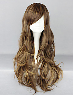 Lolita Wigs Classic/Traditional Lolita Lolita Long Brown Lolita Wig 75 CM Cosplay Wigs Solid Wig For Women