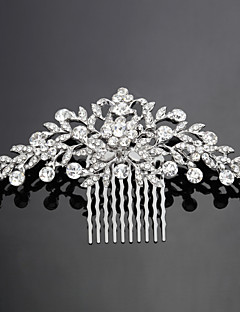 נשים סגסוגת כיסוי ראש-חתונה / אירוע מיוחד מסרקי שיער מוצג כתמונה