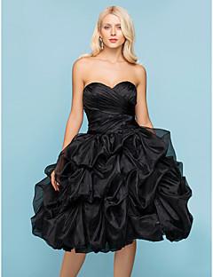 Lanting Bride® Ballkleid Extraklein / Übergrößen Hochzeitskleid - Schick & Modern / Glamurös & DramatischFarbige Brautkleider / Schwarze