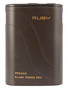 PB3000C 3000mAh 11.1V Externe batterij Kostuum voor Camera