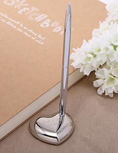 personlig sink legering bryllup penn satt skilt i boken