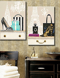 Stretched Canvas Art Still Life Fashion  Set of 2