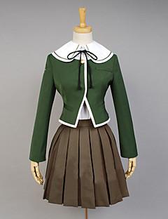 """Dangan Ronpa """"ohjelmoija"""" Chihiro Fujisak Cosplay Costume"""