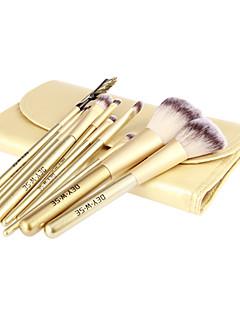 10Pcs High Quality Golden Wool Brush Set