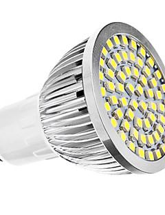3W GU10 Spot LED MR16 60 SMD 3528 240 lm Blanc Naturel AC 110-130 / AC 100-240 V