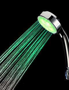 Farbwechsel LED Handbrause - verchromt