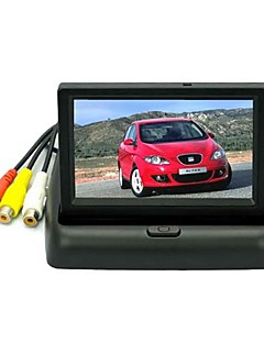 4.3 Inch Color LCD Car Rearview Monitor with LED Blacklight