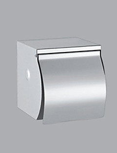 Contemporary splint rustfrit stål Finish Rustfrit stål Toilet Paper Holder