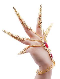 Performance Vêtements métal et strass Bracelet Belly Dance For Ladies