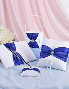 prakt bryllup samling satt i royal blue (4 stk)