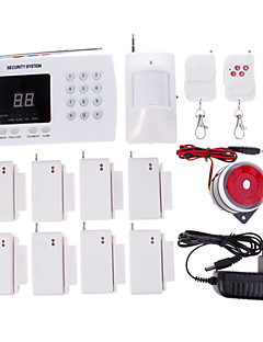 NEW Wireless Autodial Home Security Alarm System Med Auto Opkald