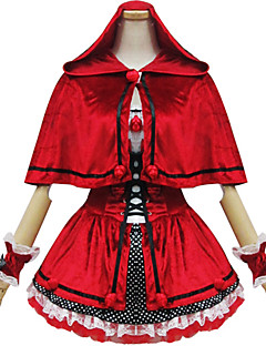 Cosplay Costumes / Party Costume Little Red Riding Hood Women's Costume