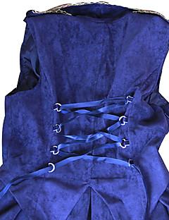 Right to the Throne Sleeveless Knee-length Double Breasted Velvet Gothic Lolita Dress