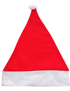 Hats Santa Suits Festival/Holiday Halloween Costumes Red Solid Hat Halloween / Christmas Unisex Velvet
