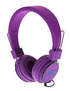 Y-6338 Stereo plegable en la oreja los auriculares con micrófono y remoto para PC