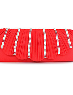 Amazing silke med rhinestone koblinger / aften håndtasker (flere farver)