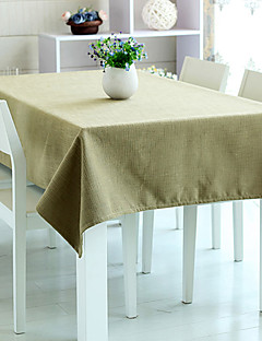 "Table Cloth Kaki, Polyester 80 ""* 56"""