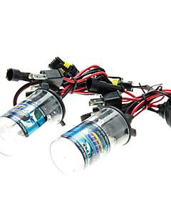 2pcs del coche H4 / H H4-2 HID Xenon Luces Bombillas Lámparas AC / DC 12V35W (4300-12000K opcional)