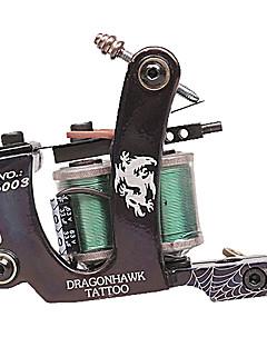 High-Quality Dual Coils 8 Wraps Tattoo Machine Gun
