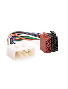 ISO Wire Harness Plug Adapter för SUBARU Forester Impreza Vivio Legacy Outback