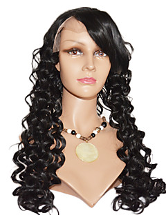 24inch Beautiful Loose Wave Indian Remy Hair Full Lace Wig