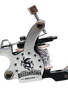 Cast Iron Dual kelat 8 Huivit Tattoo Machine Gun Liner