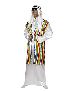 Arab Prince Colorful Stripes Men's Carnival Costume