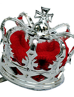 The Queen of Hearts Silver Women's Party Crown Halloween Props Cosplay Accessories