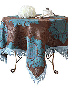 """Nappe d'ananas floral, chenille 40 """"* 40"""""""