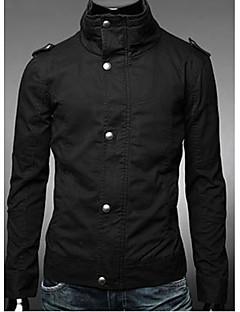Pánské bavlněné Stand Collar Jacket