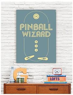 Op gespannen doek Woorden Pinball Wizard