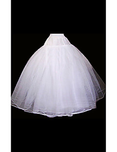 Slips Ball Gown Slip Floor-length 2 Organza White