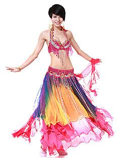 Dancewear Women's Chiffon Colorful Belly Dance Skirts(More Colors)