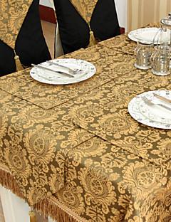 Teints en fil d'or floral Nappe