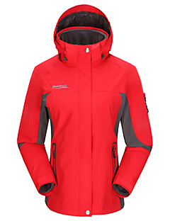Dámské Zimní bunda Bundy 3 v 1 sako Dámská bunda Outdoor a turistika Rybaření Lezení Volnočasové sporty Sněhové sportyVoděodolný Prodyšné