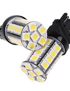 2 pc 3157 Bianco 30 5050 SMD LED frena lampada