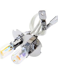 Lampadina H3 100W 12V Halogen Light Riempito con Xenon Light Giallo