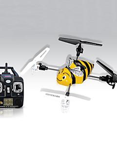 SYMA X1 RC Helicopter 4-kanaals 2.4G Geel Nylonvezel