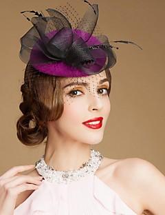 נשים נערת פרחים צמר כיסוי ראש-חתונה אירוע מיוחד קז'ואל חוץ קישוטי שיער כובעים