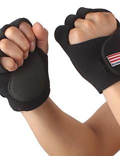Radfahren Fitness Sport Half Finger Handschuhe - Free Size